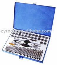 60 Piece tap and die sets