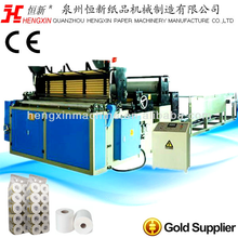 Fully Automatic Toilet Paper Roll Embossing Color Printing Rewinding Machine for Small Business