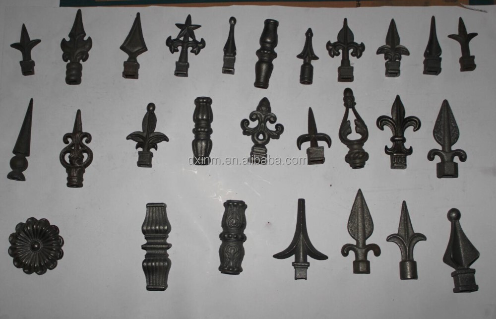 The lowes wrought iron front doors and arrow heads for gates used the ornamenal cast iron for sale