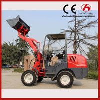 Home use high quality garden tractor loader micro wheel loader