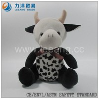 custom china plush toy animal cow panda teddy bear wholesale popular new design top quality, Custom toys,CE/ASTM safety stardard