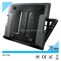 Adjustable Stand Pad USB Cooling Cooler Pad For 12~19 inch Laptop