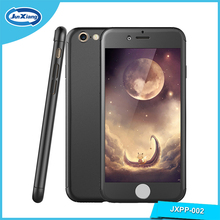 360 Full Body Coverage Protective Hard Slim PC Ultra-thin Hybrid Case Cover with Tempered Glass Screen Protector for Iphone 6s