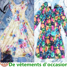 cotton tropical summer mixed used clothing all kinds of women dress used clothings