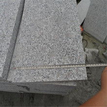 Padang Dark cheap grey granite kerb curb stone flamed