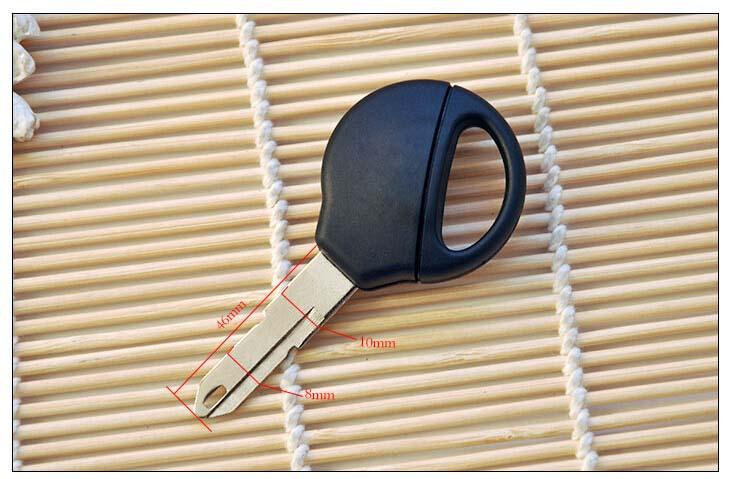 Peugeot 206 Transponder Key Shell1211