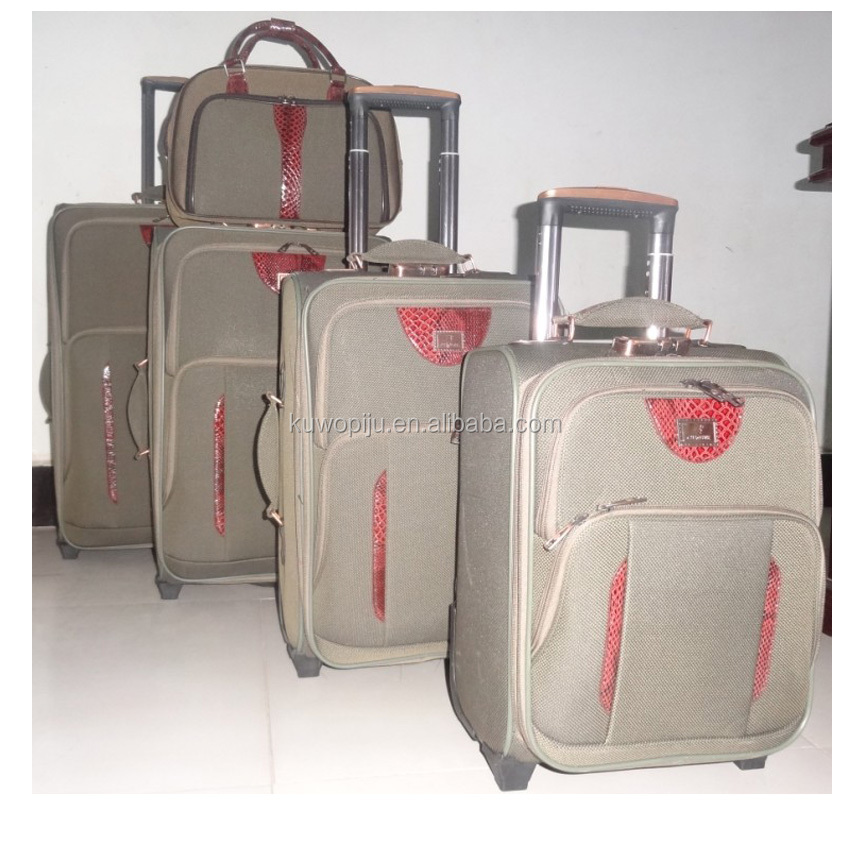 4pcs 20 24 28 32 eva side trolley case