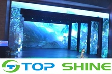LED stage Background big screen curtain outdoor p6 led smd display full color led screen IP65