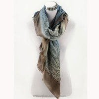 hand-painted printed pashmina scarf for women