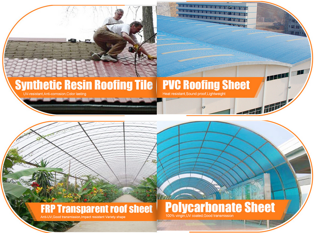 UPVC corrugated roofing tile/kerala roof tile prices/pvc plastic roof sheet
