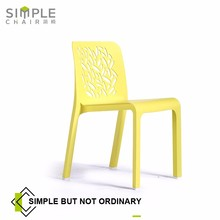 plastic modern dinner chair cafe furniture wholesale PP-312