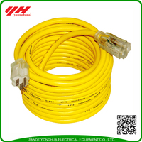 Outdoor european style extension cord