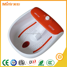 half cover bubble heating blood circulation foot massage vibrator with KC&CE certificate