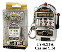 TY-4211A New Mini Casino Slot Games With Key Rings