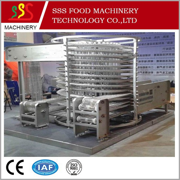fast freezer for food used spiral freezer china made cheap price export to Poland Thailand IRAN England