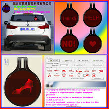 wirless control led car sticker with supply customer design