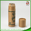 2015 top sale Round Colour Wooden pencil with design logo