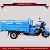 China new type tricycle heavy loading three wheel water cooled llifan 200cc engine motorcycles for sale