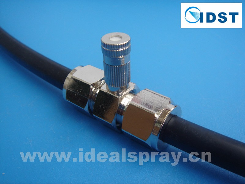 Slip Lock Mist Nozzle, Quick Connecting Mist Nozzle, SS Material, anti drip