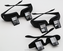Lazy Glasses Horizontal Reader Periscope Mirror Glasses - Watch TV in bed!