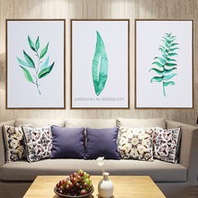 Nordic Art Custom Print Canvas 3 Panels Wall Painting With PS Outer Frame For Hotel And Living Room