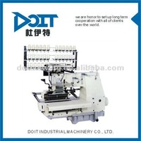 DT-1033PSSM 33-needle flat-bed double chain stitch sewing machine with shirring(upper thread elastic,no lower thread)