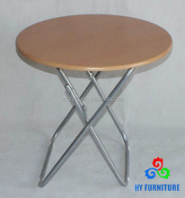 High quality dining room furniture round portable bedside table wholesale