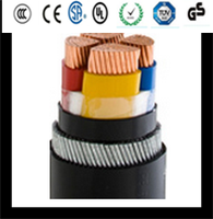 3.6/6KV 70mm XLPE insulated mental wire armored power cable