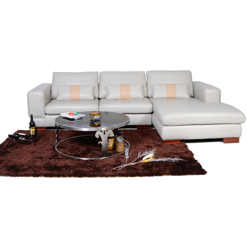 Furniture Factory Wholesale l shaped Sofa With Corner Table