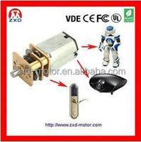 N20 geared N20 dc motor for automatic door locker