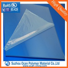 Clear PVC Sheet with PE Masking for Making Exclusive Visiting Card