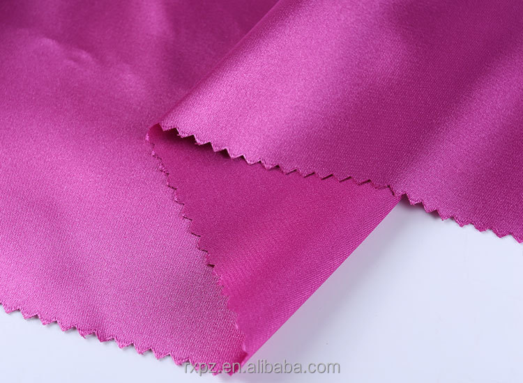 China Suppliers Latest design wholesale 100% silk satin fabric