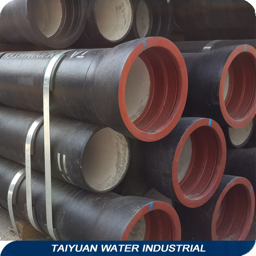 Iso 2531 K9 Ductile Iron Cement Lined Pipe 100mm