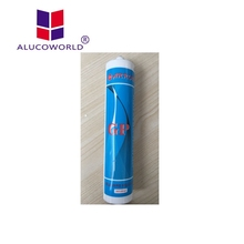 Alucoworld clear antibacterial structural glazing silicone sealant