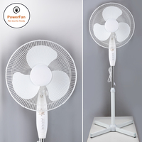 Cheap Parts Home Appliance 220V 16 Inch Electrical Fans Floor Standing Fan