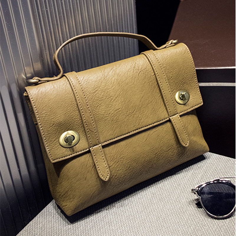 wholesale ladies fashion elegance PU leather women satchel bag