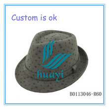 Wool felt make french fedora hats for men