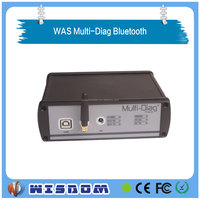 V2011C WAS Multi-Diag Bluetooth Multi-Languages heavy duty truck obd diagnostic scanner tool