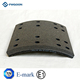 Heavy Duty Fuwa 16t Truck Parts Brake Lining 4551 non-asbestos trailer brake linings