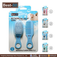 2016 OEM factory hair comb and brush in baby care kit