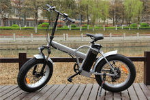 "Fatbike Factory Selling 26"" 4.0 Folding Fat Electric Bike Hidden Battery Fat Tire Electric Bike With Pedals For Sale RSEB507"