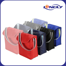 Color Band Lunch Sack/Lunch Carry Bag