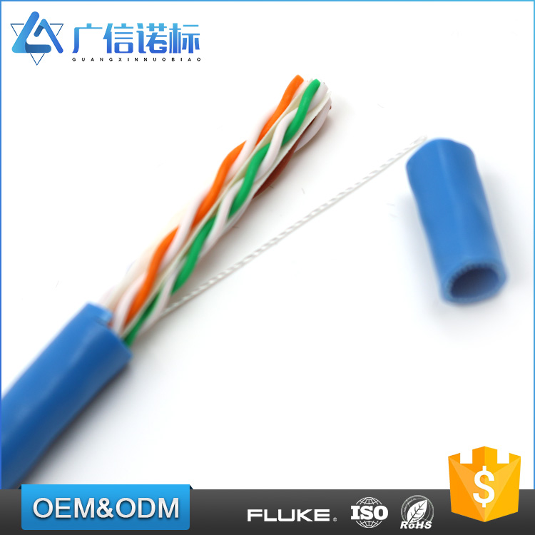 Top quality 0.52mm / 0.54mm / 0.56 / 0.57mm OD multi core UTP cat6 cable network
