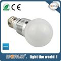 led light bulb waranty 2years E14 3W 4.5W etc factory direct sale led bulb light