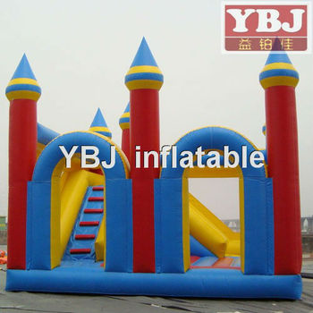 2014 hot sell outdoor kid's play bouncy castle