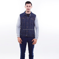 2016 Factory of Men's Cotton Denim Jeans Jacket