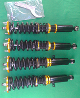 Racing Adjustable coilover kits suspension kit for Toyota JZX110/Verossa/SXE10/Altezza/LEXUS IS200-300 01-05