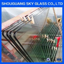 3mm 5mm 8mm 10mm 12mm density toughened glass from chinese manufacturer