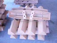 bulldozer swamp type track pads / track shoes for sale D31 D41 D50 D60 D65