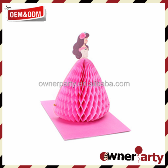 Customized Paper Craft Honeycomb Tissue Balls DIY